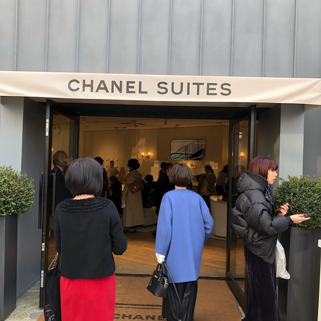 CHANEL POP UP EVENT♥️